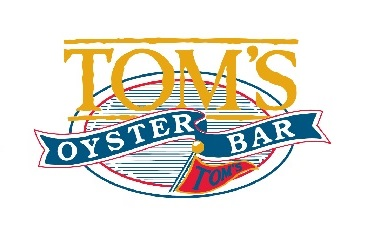 Tom's Oyster Bar Logo - Catfe Lounge Sponsor
